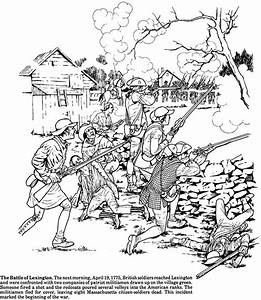 Story of the American Revolution Coloring Book Dover ...