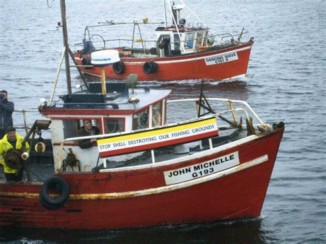 Fishing Boats In Ireland Done Deal by Shell Corrib Gas Who Are The Real Thugs Bullies