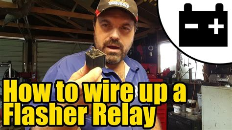 How Wire Flasher Relay Youtube