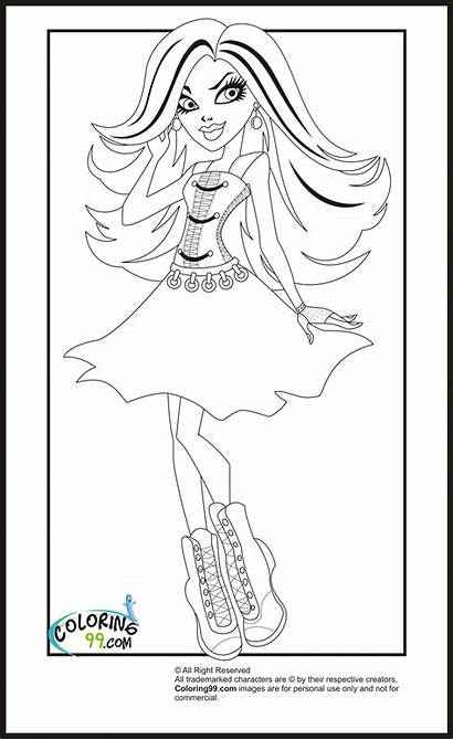 Coloring Pages Monster Spectra Olds Vondergeist Printable