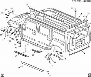 Service Manual  2007 Hummer H2 Digram For A Rear Floor