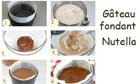 recette dessert facile nutella recette g 226 teau fondant au nutella avec deux ingr 233 dients