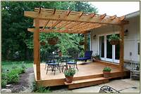 deck shade ideas Pergola Deck Shade Ideas — Jbeedesigns Outdoor : Best Deck ...