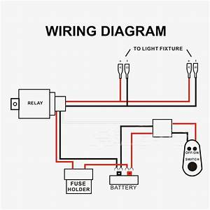Led Light Bar Relay Wiring Diagram - Database