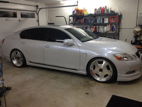 va  lexus gs whiteblack vip rare colors