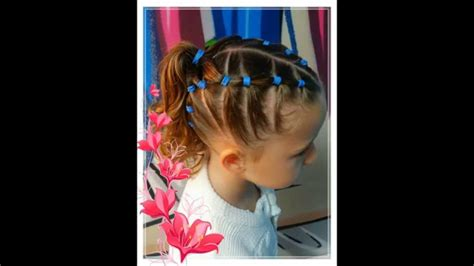 idee dune coiffure simple pour lecole youtube