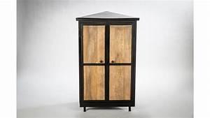 Meuble Angle Bois : meuble angle bois ~ Edinachiropracticcenter.com Idées de Décoration