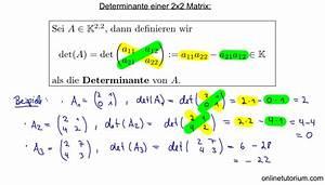 Determinante Berechnen 2x2 : mathematik nachhilfe videos vorlesungen bungen x ~ Themetempest.com Abrechnung