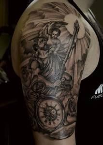 Amazing Saint Christopher ink | Tattoos | Pinterest ...