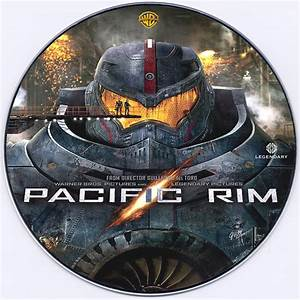 Pacific Rim DVD Label (2013) Custom Art