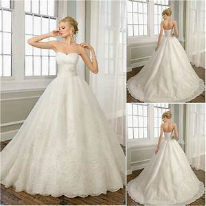 free shipping very beautiful customized sweetheart ball With beautiful ball gown wedding dresses