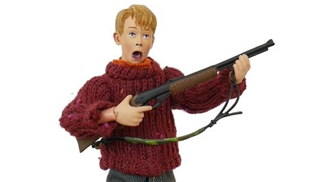 Home Alone Toys by Kevin Mccallister Neca Home Alone Clothed Unboxing