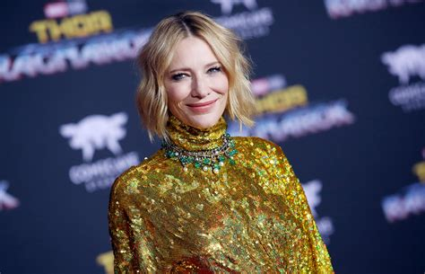 Cate Blanchett Loved Wearing Lycra for Thor | PEOPLE.com