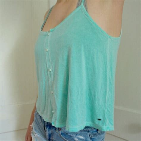 hollister blouses 40 hollister tops teal tank from hollister from