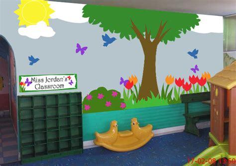 garden classroom strawberrysunlight s 872 | outside tree classroom mural kit
