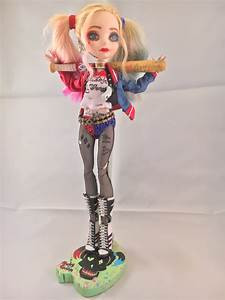 Custom Suicide Squad Harley Quinn By Downtownpunk On