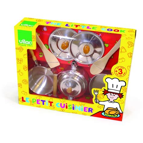 jeux pour apprendre a cuisiner jouets des bois casseroles poêles et boulloires