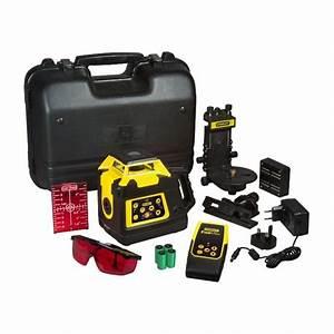 Niveau Laser Stanley : stanley fatmax niveau laser rotatif double pente manuel ~ Melissatoandfro.com Idées de Décoration