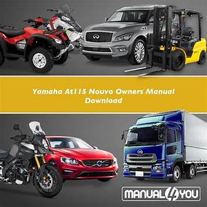 Yamaha At115 Nouvo Owners Manual Download  U2013 Manual4you