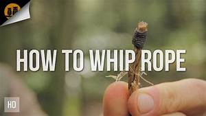 How To Whip A Rope End