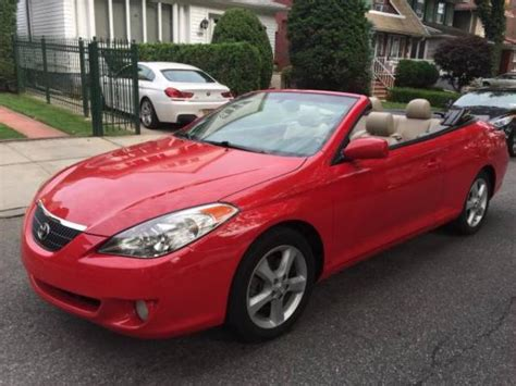 Toyota Solara Convertible For Sale by 2006 Toyota Camry Solara Convertible For Sale 5500