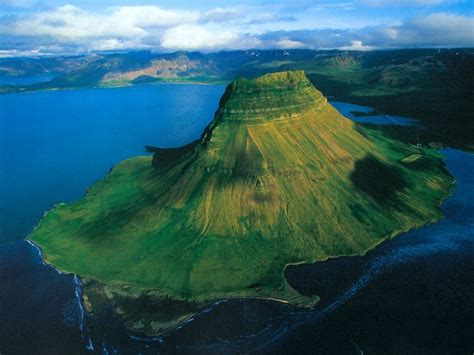 This Is Kirkjufell Right By The Small Town Of