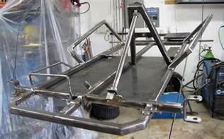 Lawn Mower Work Bench by Go Kart Frame Plans How To Build A Frame Kartfab Com