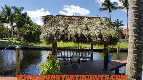 Tiki Hut - rethatch your tiki hut or chickee hut with tiki