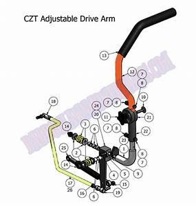 2011 Czt Drive Arm Assembly