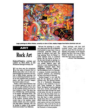 Mitchell E. Robles-Southwest Art Magazine