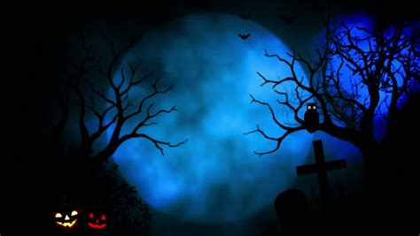 Ghost Animation Wallpaper - animated stylish background useful for spooky