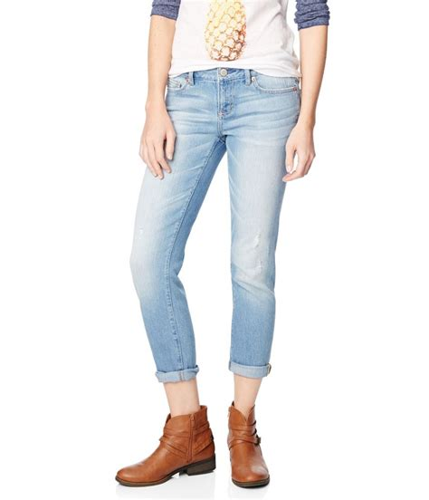 aeropostale womens bayla destroyed skinny fit jeans womens apparel  shipping