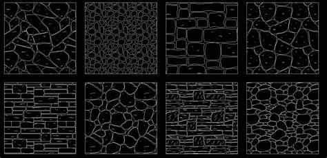stone hatch cad files dwg files plans  details