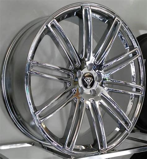 White Diamond 1043 Chrome Wheels