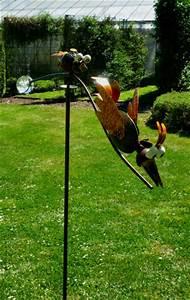 Kleine Vögel Im Garten : windspiel wippe gartenstecker kleine wilde v gel garten ~ Lizthompson.info Haus und Dekorationen