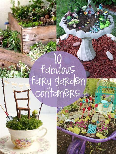 Container Fairy Garden  Wwwpixsharkcom Images