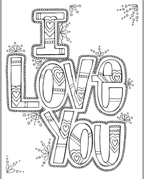 Our i love you coloring pages in this category are 100% free to print, and we'll never charge you for using, downloading, sending, or sharing them. Cute I Love You Coloring Pages | Love coloring pages ...