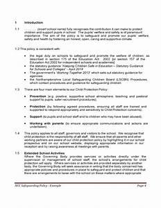 Unique Child Protection Policy Template Ornament Resume Ideas School ...