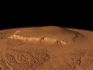 Mars Volcano Olympus Mons