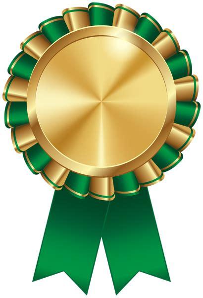 rosette ribbon green transparent image ribbon png