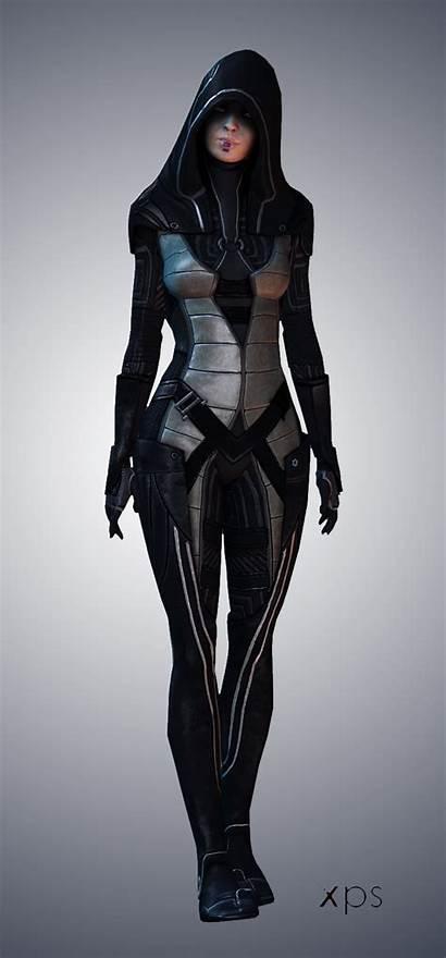 Kasumi Mass Effect Outfit Deviantart Character Outfits