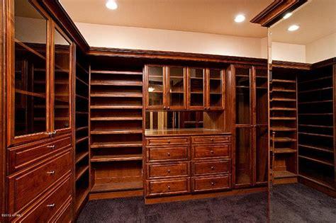 paradise valley custom home build modern closet