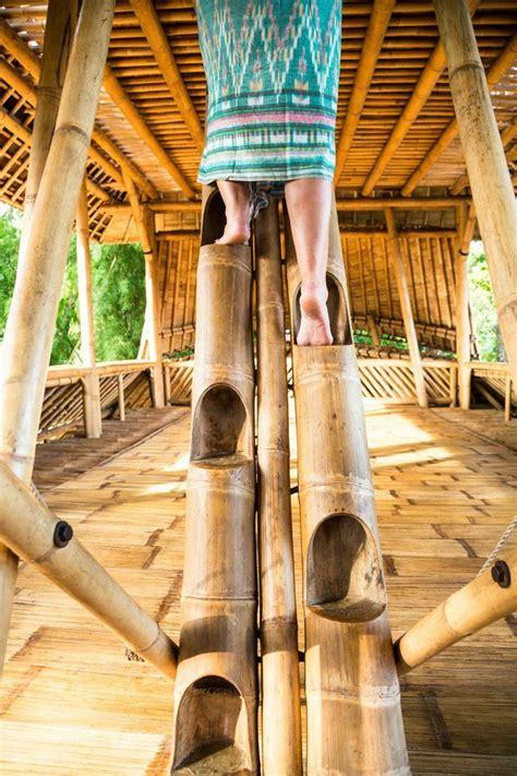 unique bamboo stairs interior design ideas