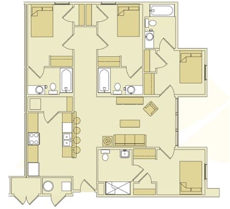 Utilities Included Apartments Brandon Fl by Hawks Landing Student Apartments Apartments Ta Fl
