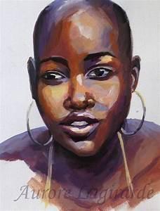 Peinture Visage Femme : portrait africaine peinture portrait voyage peinture pinterest ~ Melissatoandfro.com Idées de Décoration