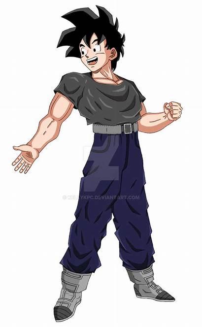 Goten Adult Deviantart Drawings Manga