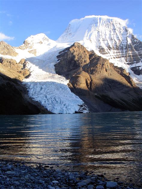 The mount command serves to attach the file system. Mount Robson - Wikimedia Commons