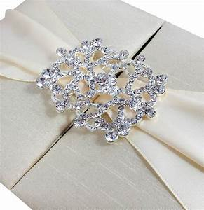 boxed wedding invitation luxury wedding invitations With luxury diamante wedding invitations