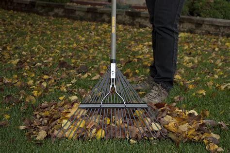 steel leaf rake true temper tools