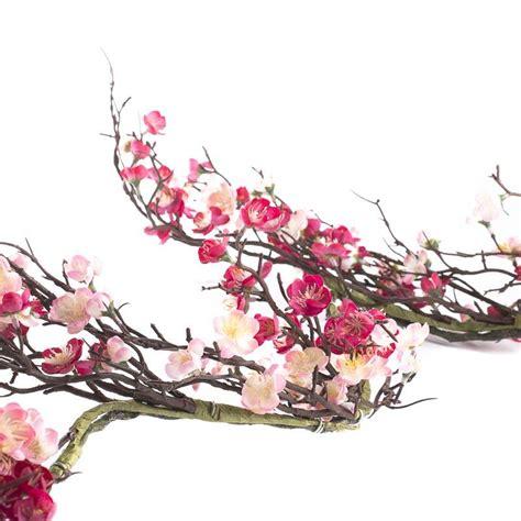 pink artificial cherry blossom garland garlands floral